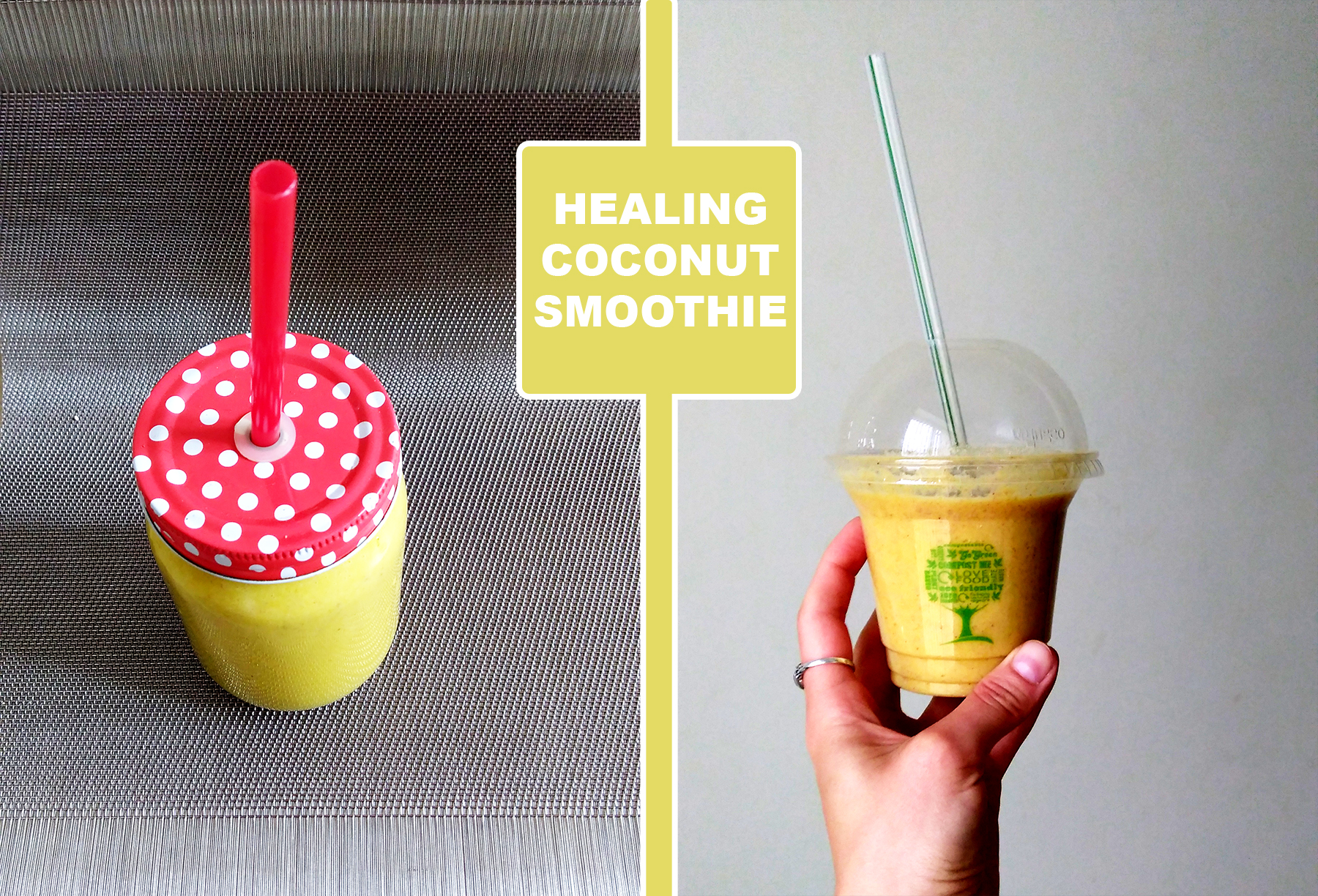 Healing Coconut Smoothie