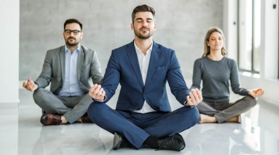corporate yoga and wellness