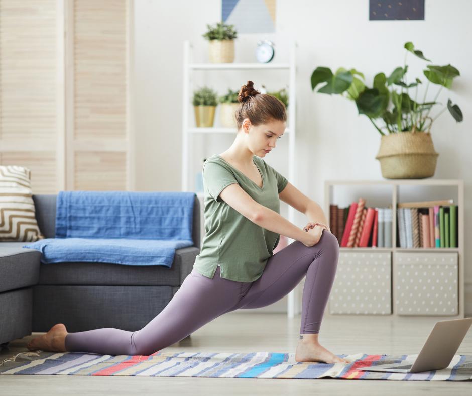 yoga student