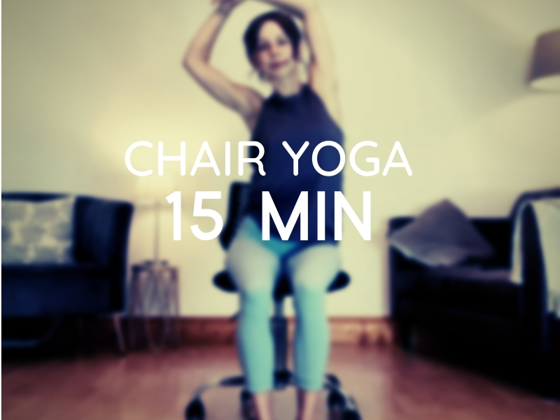 free chair yoga youtube